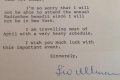 Liv-Ullman-1988-letter